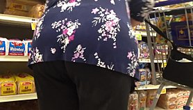 Granny wide ass