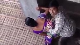 Indian couple caught in public Pussy in Porno